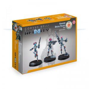 Corvus Belli Infinity  Non-Aligned Armies - NA2 NA2 Karakuri Special Project - 280754-0881 - 2807540008811