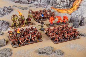 Mantic Kings of War  Salamanders (KoW) Salamander Mega Army - MGKWS102 - 5060469667065