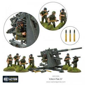Warlord Games Bolt Action  Germany (BA) Flak 37 8.8cm - 402012026 - 5060572500334