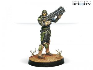 Corvus Belli Infinity  Haqqislam Hassassin Farzans (Boarding Shotgun + Contender) - 280451-0326 - 2804510003265