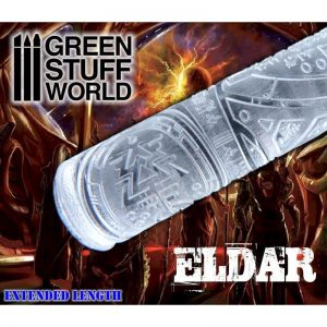 Green Stuff World   Rolling Pins Rolling Pin ELDAR - 8436574500424ES - 8436574500424