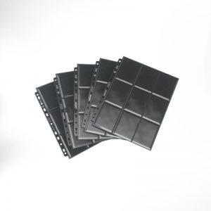 Gamegenic   SALE! Gamegenic Sideloading 18-Pocket Page Black (50 pack) - GGS30002ML - 4251715403235