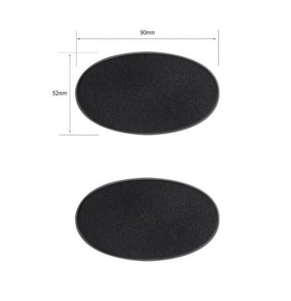 Games Workshop (Direct)   Plain Bases Citadel 90x52mm Oval Bases - 99079999009 - 5011921064663