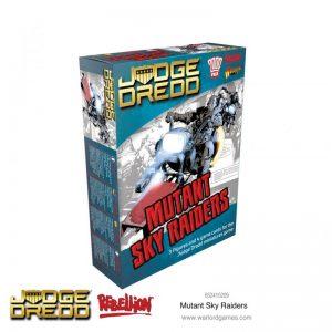 Warlord Games Judge Dredd  Judge Dredd Judge Dredd: Mutant Sky Raiders - 652410209 - 5060572505407