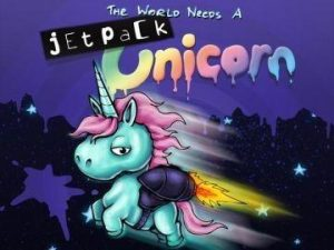 Wyrd   Jetpack Unicorn The World Needs a Jetpack Unicorn - WYR11301 - 813856014387