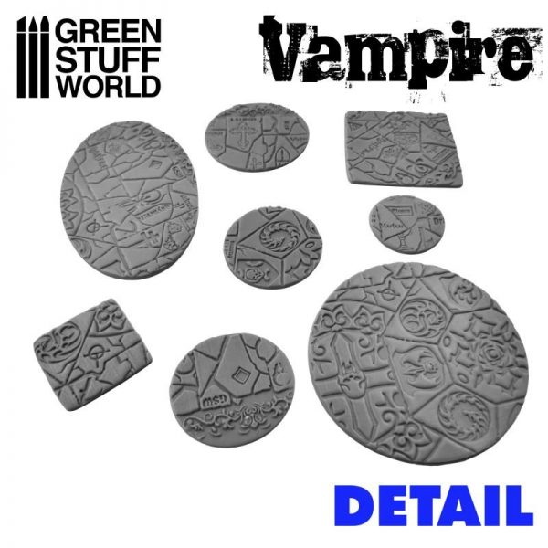 Green Stuff World   Rolling Pins Rolling Pin VAMPIRE - 8436574508208ES - 8436574508208
