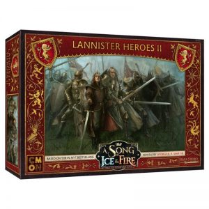 Cool Mini or Not A Song of Ice and Fire  House Lannister A Song of Ice and Fire: Lannister Heroes #2 - CMNSIF210 - 889696009357