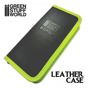Green Stuff World   Paint Racks Premium Leather Case for Tools and Brushes - 8436554369713ES - 8436554369713