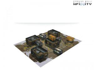 Corvus Belli Infinity  Infinity Essentials Navajo Outpost Scenery Pack - 285057 - 2850570000003