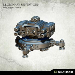 Kromlech   Legionary Model Kits Legionary Sentry Gun: Twin Magma Cannon (1) - KRM118 - 5902216114791