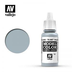 Vallejo   Model Colour Model Color: Pale Grey Blue - VAL907 - 8429551709071