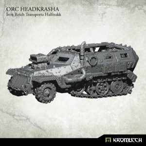 Kromlech   Orc Model Kits Orc Headkrasha, Iron Reich Transporta Halftrakk (1) - KRVB052 - 5902216116849