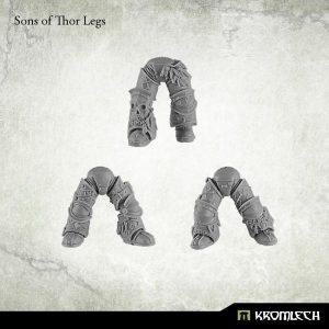Kromlech   Legionary Conversion Parts Sons of Thor Legs (6) - KRCB153 - 5902216113411