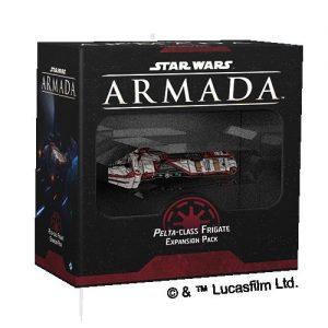 Fantasy Flight Games Star Wars: Armada  The Galactic Republic - Armada Star Wars Armada: Republic Pelta-class Frigate - FFGSWM40 - 841333112530