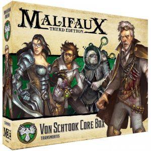 Wyrd Malifaux  Resurrectionists Von Schtook Core Box - WYR23201 - 812152031210