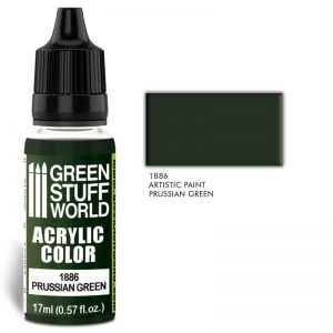 Green Stuff World   Acrylic Paints Acrylic Color PRUSSIAN GREEN - 8436574502459ES - 8436574502459