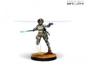 Corvus Belli Infinity  Haqqislam Namurr Active Response Unit (Heavy Pistol, E/M CCW) - 281403-0777 - 2814030007773