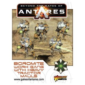 Warlord Games Beyond the Gates of Antares  SALE! Boromite Work Gang (Heavy Tractor Mauls) - 502212001 - 5060393705895