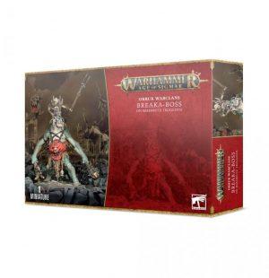 Games Workshop Age of Sigmar  Orruk Warclans Breaka-boss on Mirebrute Troggoth - 99120209073 - 5011921154258