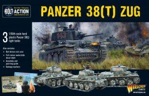 Warlord Games Bolt Action  Germany (BA) Panzer 38(t) Zug - 402012032 - 5060393709121