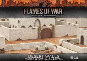 Gale Force Nine   Battlefield in a Box Flames of War: Desert Walls - BB225 - 9420020235748