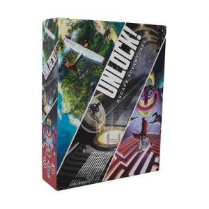 Asmodee Unlock!  Unlock! Unlock! - ASMSCUNLOCK01EN - 3558380044314