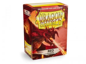 Dragon Shield   Dragon Shield Dragon Shield Sleeves Red (100) - DS100R - 5706569100070