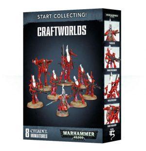 Games Workshop Warhammer 40,000  Craftworlds Eldar Start Collecting! Craftworlds - 99120104057 - 5011921089093