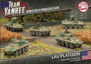 Battlefront Team Yankee  SALE! LAV-25 Platoon (plastic) - TUBX16 - 9420020237179