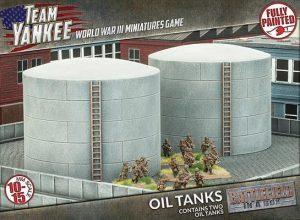 Gale Force Nine   Battlefield in a Box Team Yankee: Oil Tanks - BB190 - 9420020229822