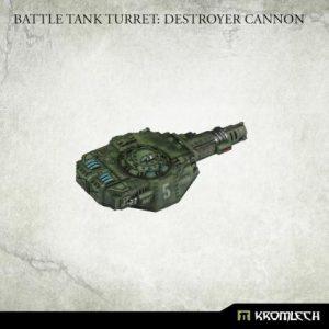 Kromlech   Imperial Guard Conversion Parts Battle Tank Turret: Light Battle Cannon (1) - KRVB094 - 5902216119840