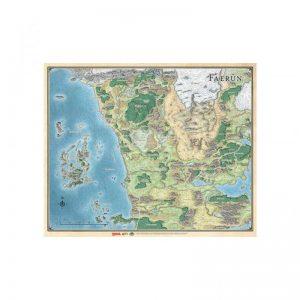 Gale Force Nine Dungeons & Dragons  D&D Game Mats D&D: Faerun Realm and Sword Coast Map - GFN72791 - 9420020248106