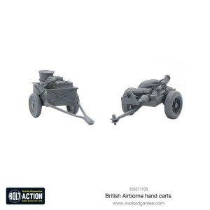 Warlord Games Bolt Action  Great Britain (BA) British Airborne Hand Carts - 403011108 - 5060393709879