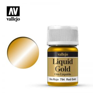 Vallejo   Liquid Gold Vallejo Liquid Red Gold - VAL794 - 8429551707947