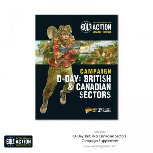 Warlord Games Bolt Action  Great Britain (BA) D-Day: British & Canadian Sectors - 401010015 - 9781472839121