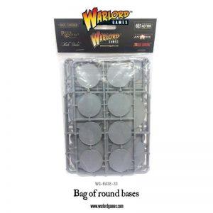 Warlord Games   Plain Bases Bag of Round Bases - WG-BASE-30 - 5060393701835