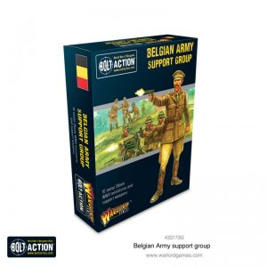 Warlord Games Bolt Action  Belgian Army (BA) Belgian Army support group - 402217302 - 5060572503267