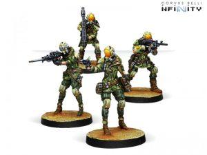 Corvus Belli Infinity  Non-Aligned Armies - NA2 Brawlers, Mercenary Enforcers - 280736-0766 - 2807360007667