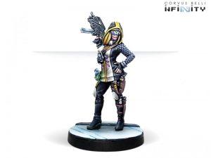 Corvus Belli Infinity  The Aleph Dart, Optimate Huntress (Submachine gun, Grenades) - 280863-0756 - 2808630007561