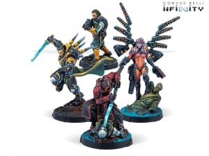 Corvus Belli Infinity  Combined Army Betrayal Characters Pack - 280034-0837 - 2800340008371