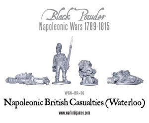 Warlord Games (Direct) Black Powder  British (Napoleonic) British Casualties (Waterloo) - WGN-BR-36 - 5060393700746
