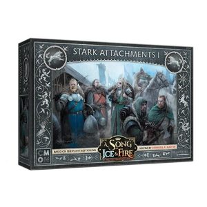 Cool Mini or Not A Song of Ice and Fire  House Stark A Song of Ice and Fire: Stark Attachments #1 - CMNSIF116 - 889696010254