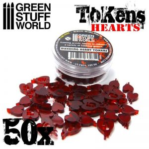 Green Stuff World   Status & Wound Markers Life Tokens - 8436554369652ES - 8436554369652