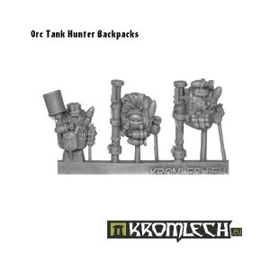 Kromlech   Orc Conversion Parts Orc Tank Hunter Backpacks (6) - KRCB099 - 5902216110977