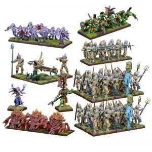 Mantic Kings of War  Trident Realm of Neritica Trident Realm of Neritica Mega Force - MGKWR102 - 5060469660578