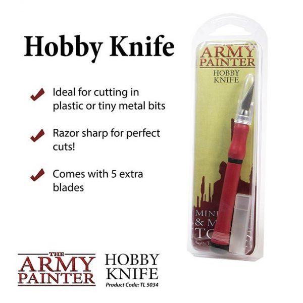 The Army Painter   Army Painter Tools Army Painter Hobby Knife - APTL5034 - 5713799503403