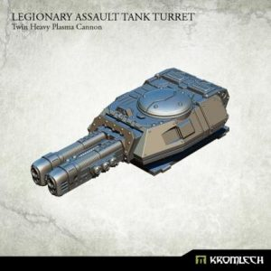Kromlech   Legionary Conversion Parts Legionary Assault Tank Turret: Twin Heavy Plasma Cannon - KRVB044 - 5902216116450