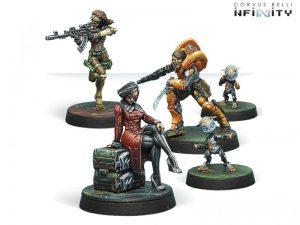 Corvus Belli Infinity  Infinity Essentials Dire Foes Mission Pack 6: Defiant Truth - 280011-0613 - 2800110006132