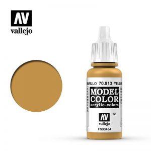 Vallejo   Model Colour Model Color: Yellow Ochre - VAL913 - 8429551709132