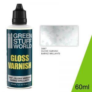 Green Stuff World   Varnish GSW Gloss Varnish 60ml - 8435646502472ES -